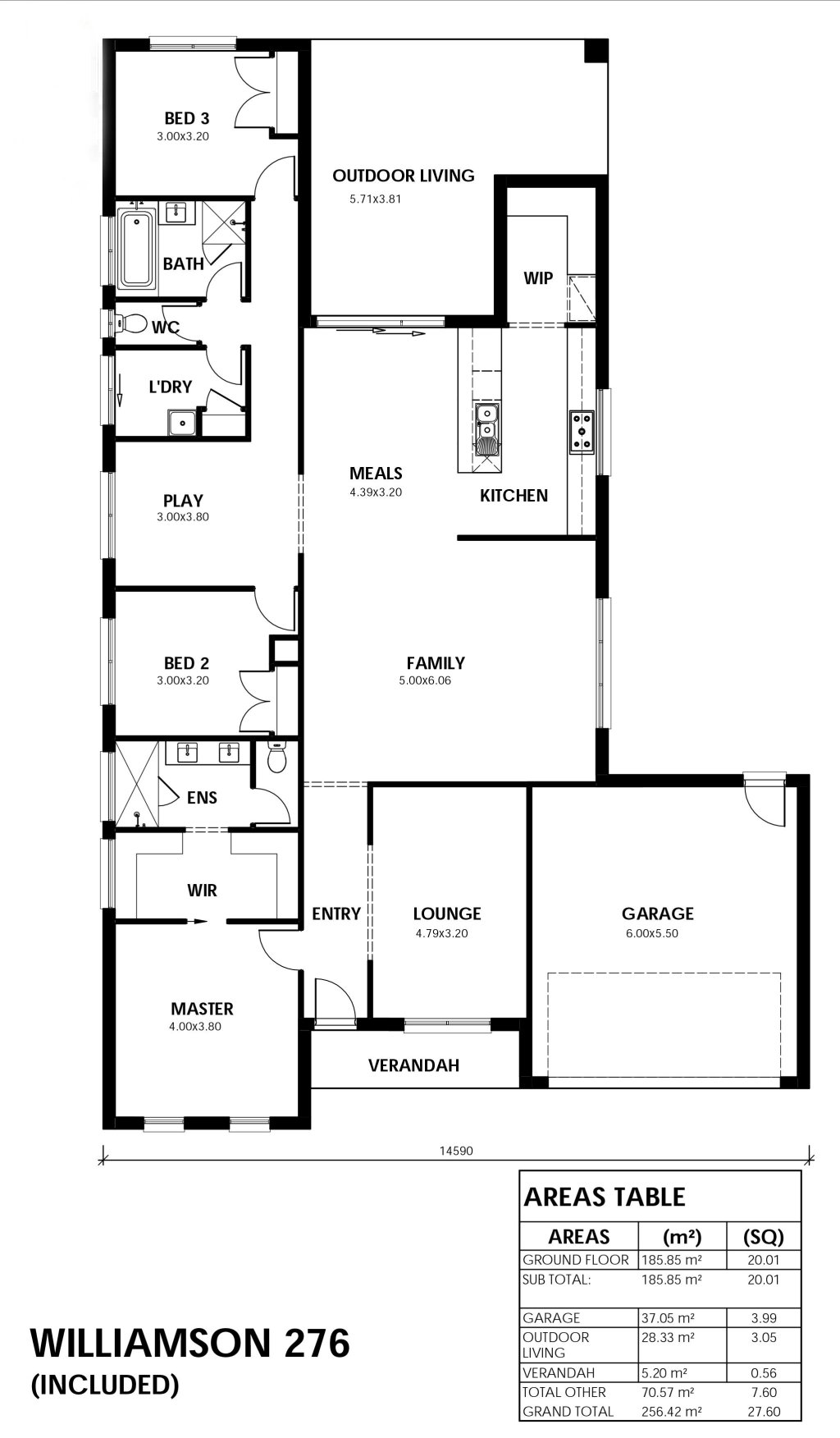 Williamson 276 Floorplan