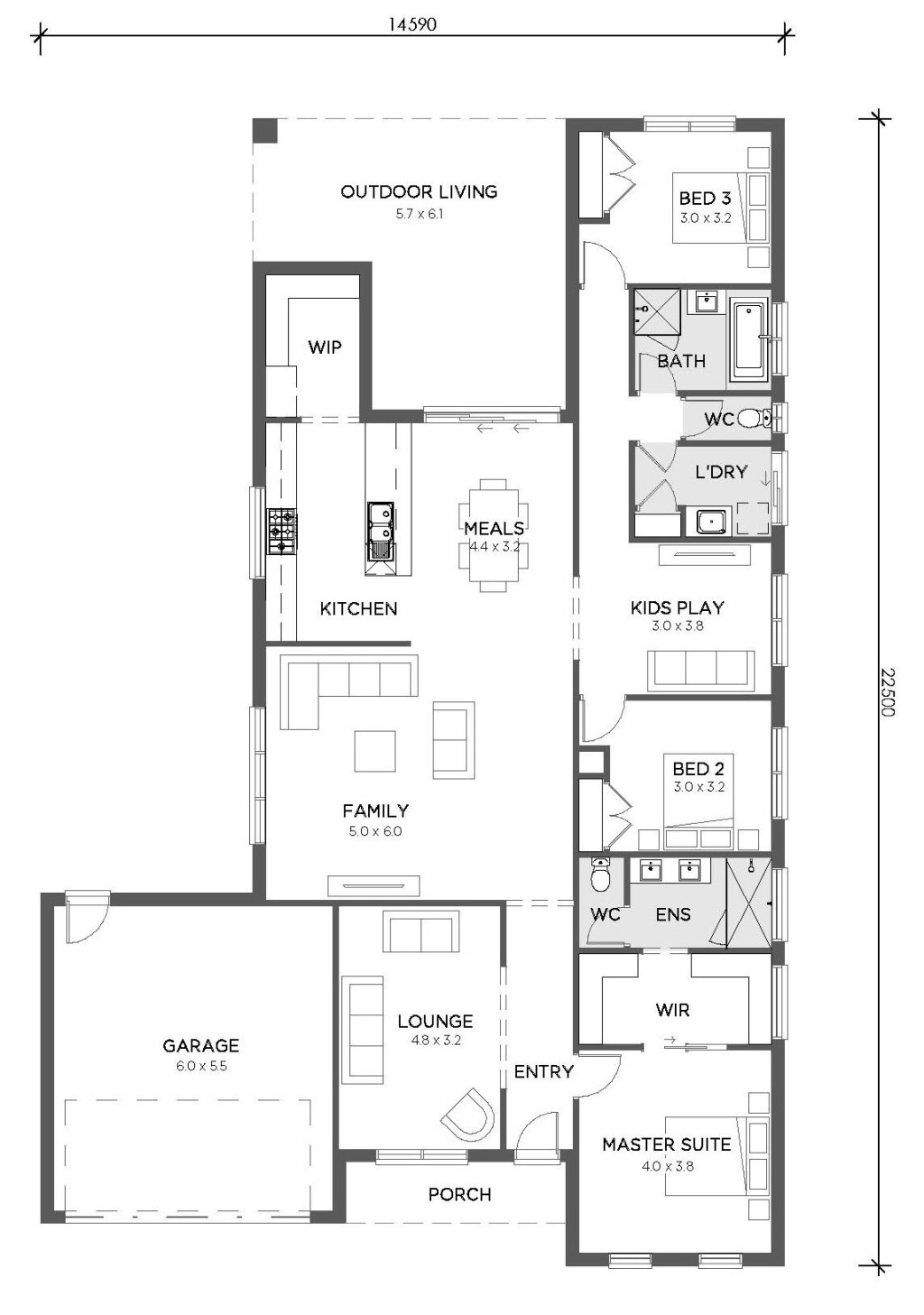 Williamson 276 Williamson 276 Floorplan