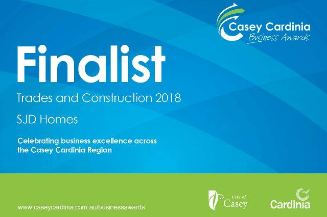 Casey Cardinia Business Awards Finalist!